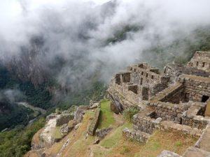 Prachtige uitzichting tijdens de Inca trail