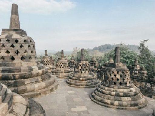 Sunset Borobudur