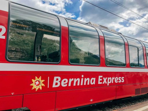 Trein Bernina Express
