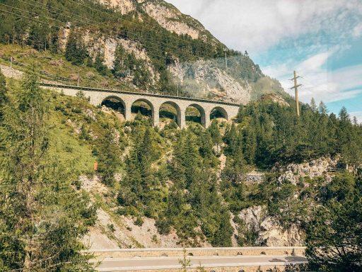 Bernina Express Uitzicht