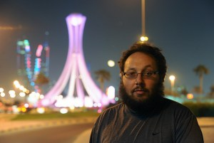 American freelance journalist Steven Sotloff, pictured in Bahrain in 2010 (EPA/Mazen Mahdi)