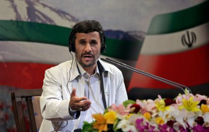 The announcement that hardliner Mahmoud Ahmadinejad had won Iran's 2009 presidential election spurred massive protests. (AP Photo/Ben Curtis)