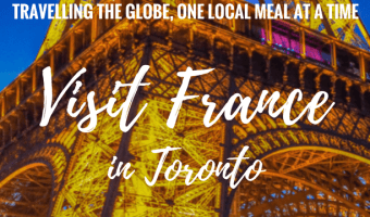 I visit one of my favorite countries, France, by trying French Food in Toronto including goat cheese salad, steak frites, chocolate mousse & of course wine.