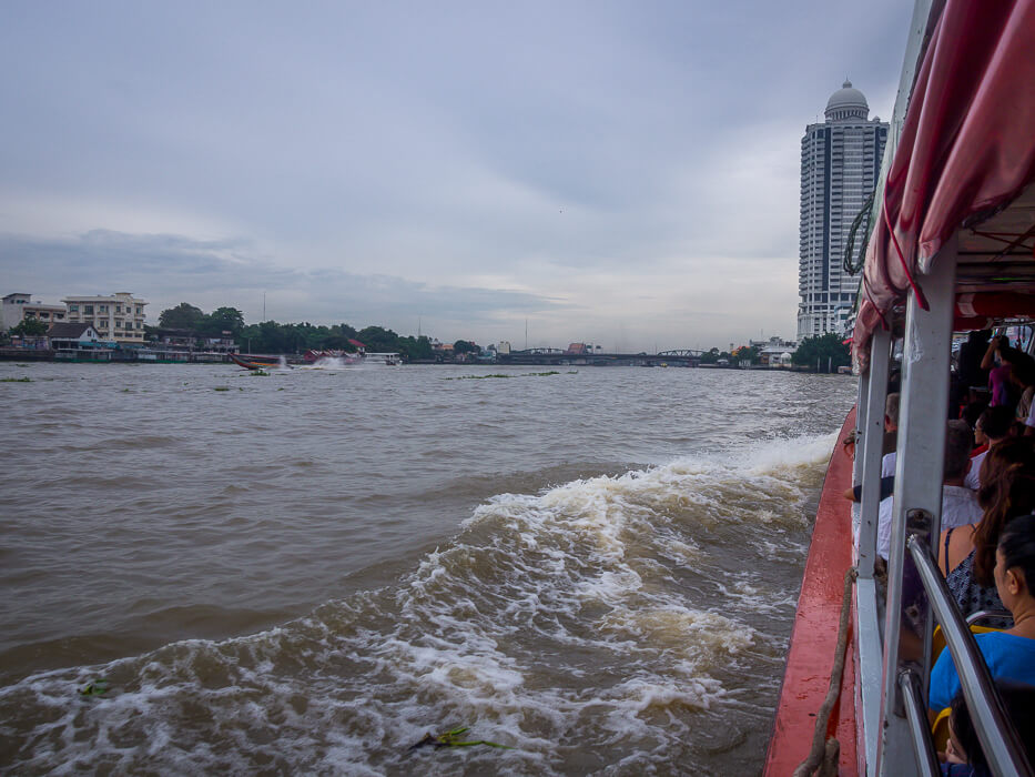 Take the Chao Phraya River commuter ferry