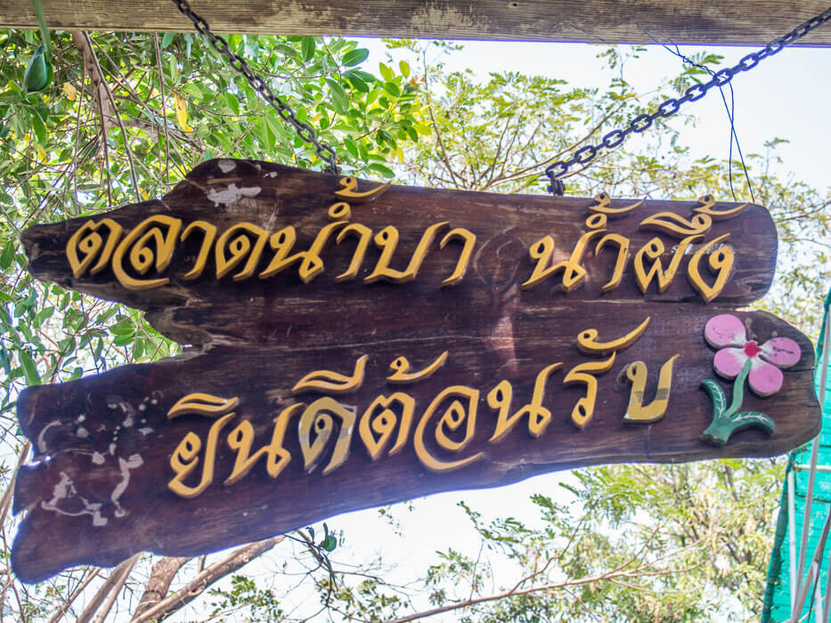Welcome to Bang Naam Phung Floating Market