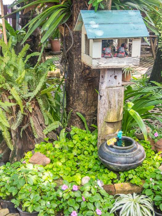 courtyard at the chiang mai womens correctional massage