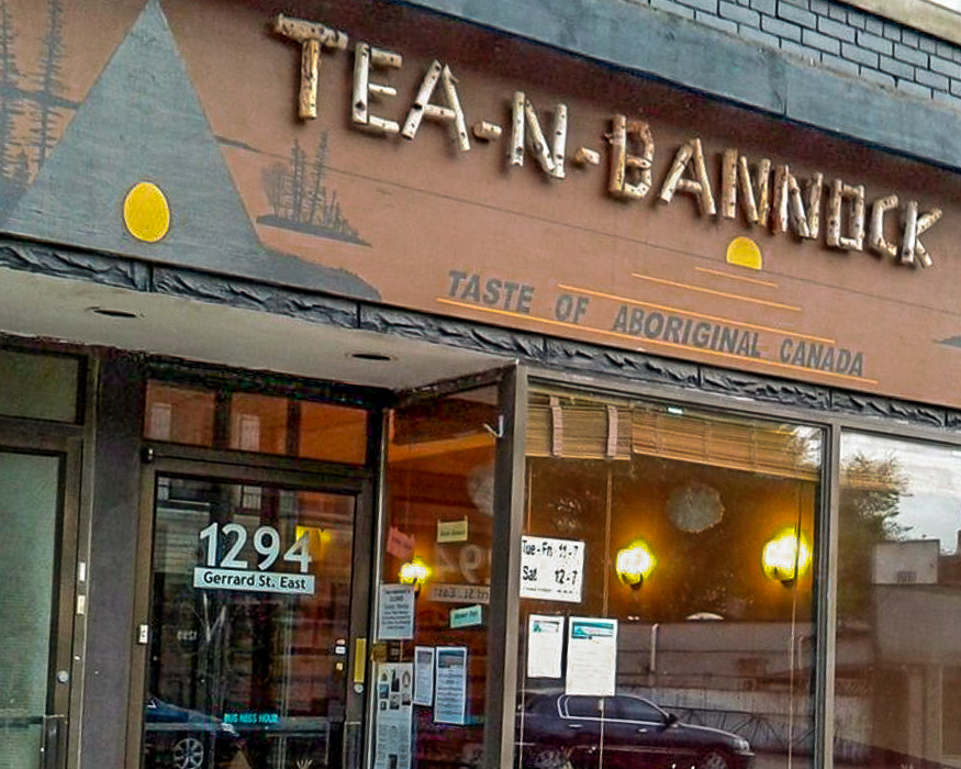 Tea and Bannock storefront