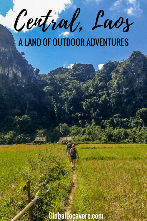 Photo Essay: My memories of Central Laos are filled with the blues & greens of the natural landscape. Outdoor adventures: hiking, swimming, biking & tubing.