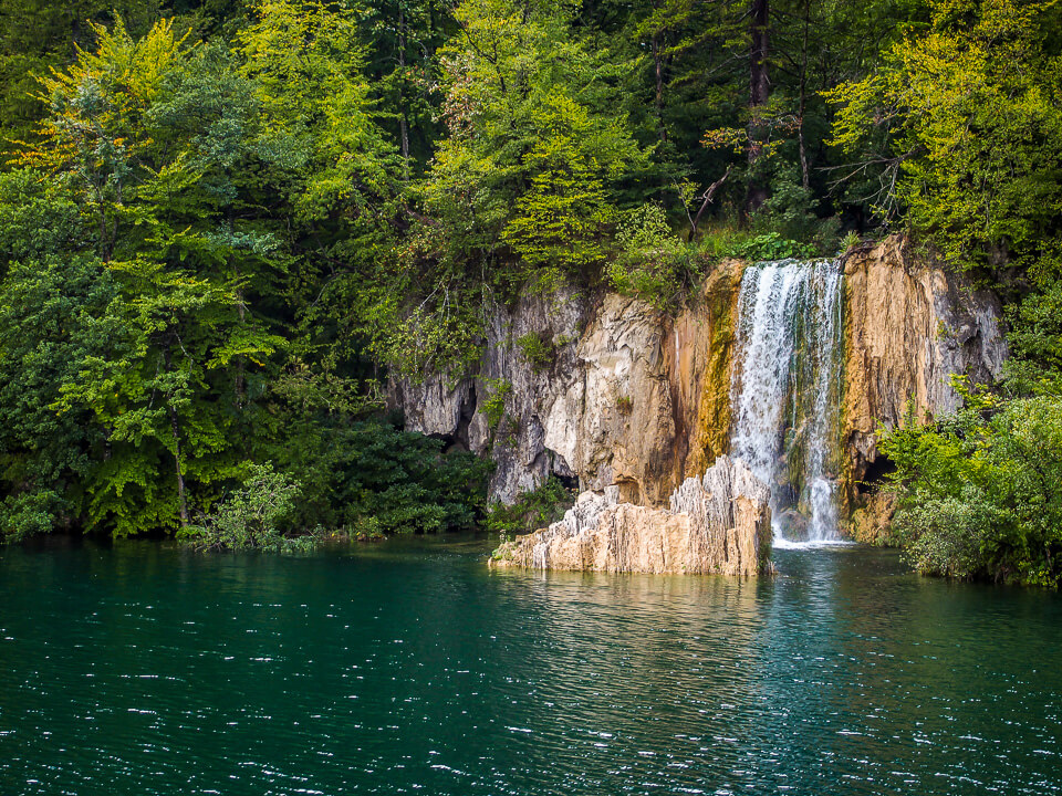 Plitvice Lakes National Park Croatia Waterfall