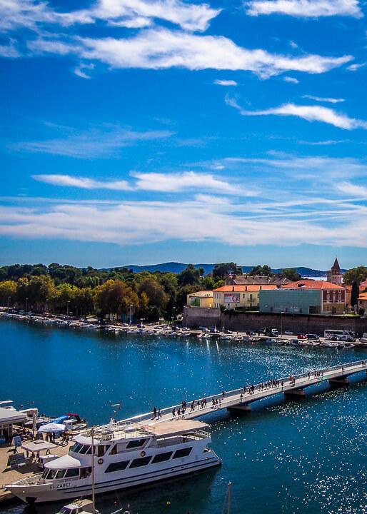 Zadar Croatia harbour daytime