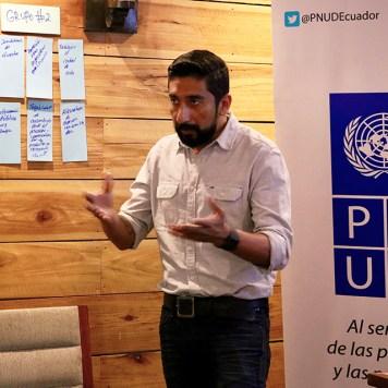 Tito Navia, Coordinador Nacional del Proyecto GMC en Ecuador.