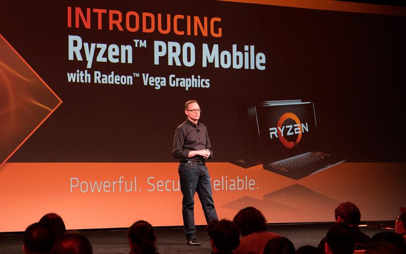 AMD redefine los cómputos de alto rendimiento con el preview de nuevos procesadores y productos gráficos en CES 2018