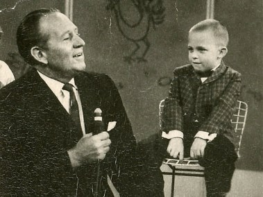 Fred with Art Linkletter