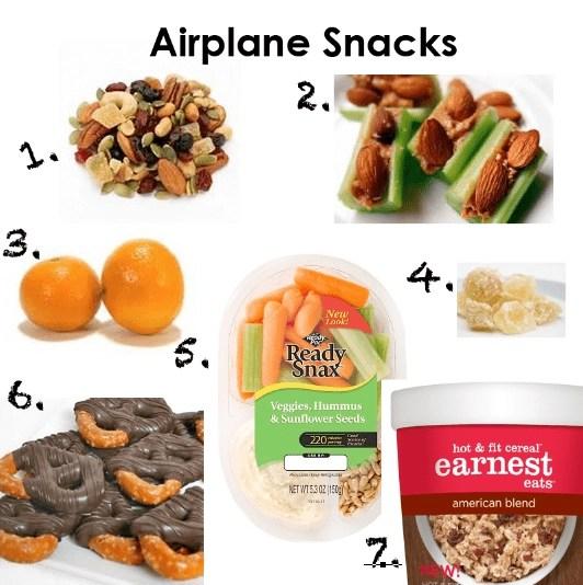 airplane snacks