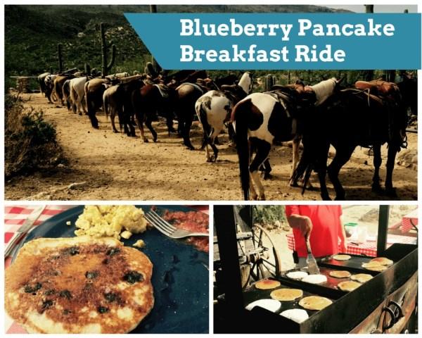 Tanque Verde Ranch - Blueberry Pancake Breakfast Ride