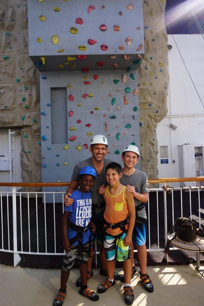 NCL Rock Climb