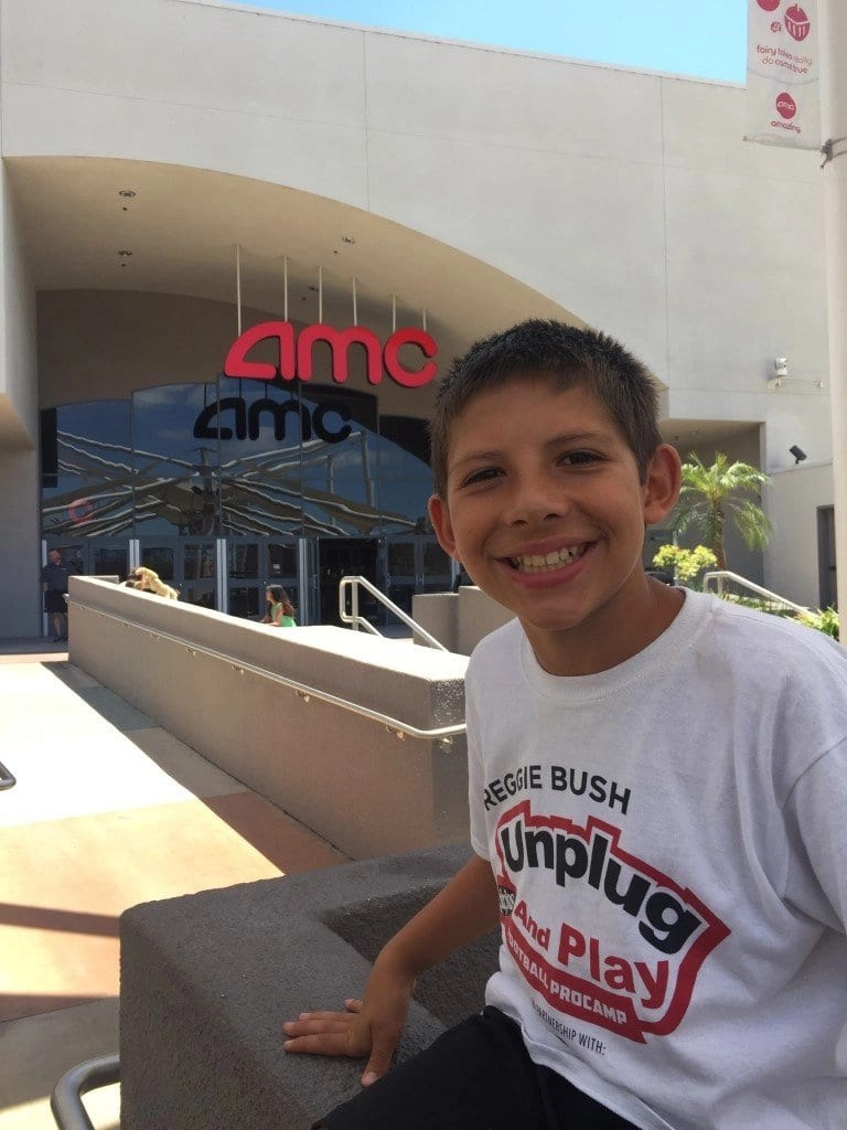 amc antman with reggie bush