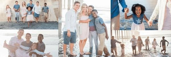 Gorgeous Transracial Adoptive Family