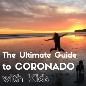 Headed to San Diego with kids. Coronado is the absolute BEST San Diego location for families. And, this guide is the only guide you will need to help you plan the perfect San Diego vacation. Click to see my Ultimate Guide to Coronado with kids.