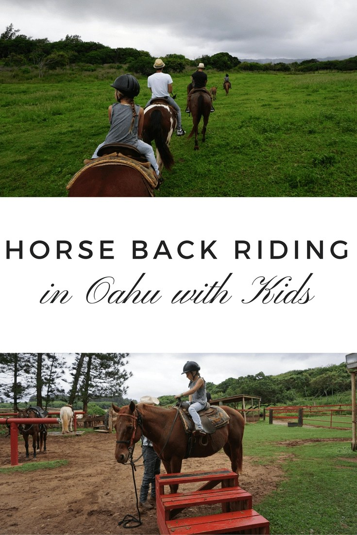 Amazing Things to Do in Oahu- 3 Reasons Gunstock Ranch is a MUST #Oahu #gunstockranch #horsebackrides