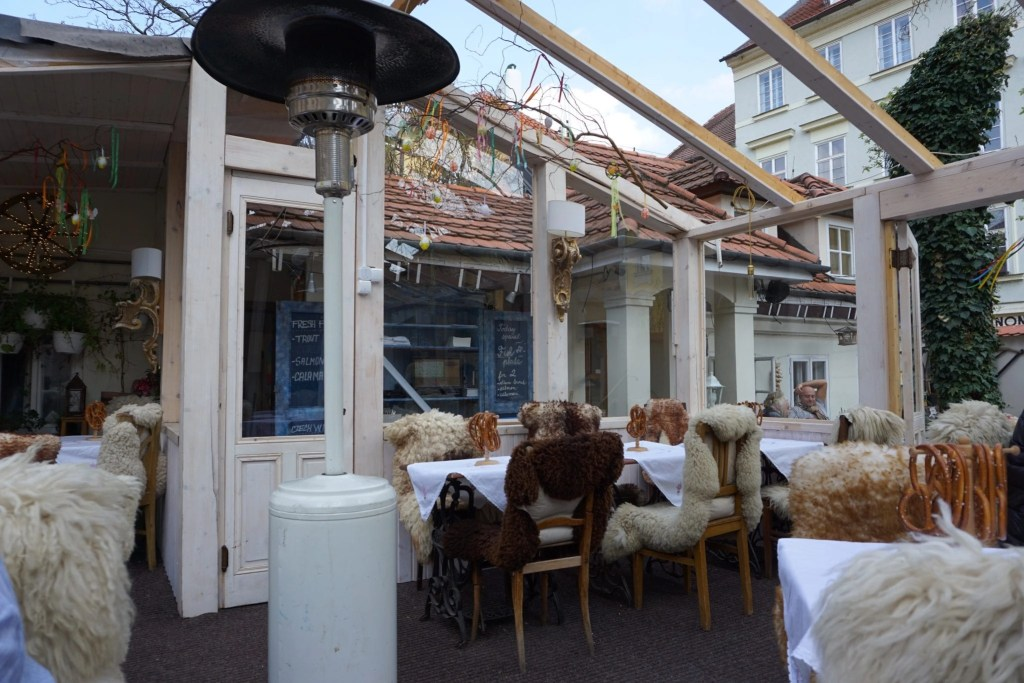 Adorable Restaurant in Prague