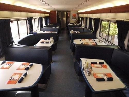 Amtrak Dining