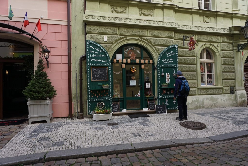 Adorable Gingerbread Store in Prague, plus review of Eating Prague Food Tour by Global Munchkins