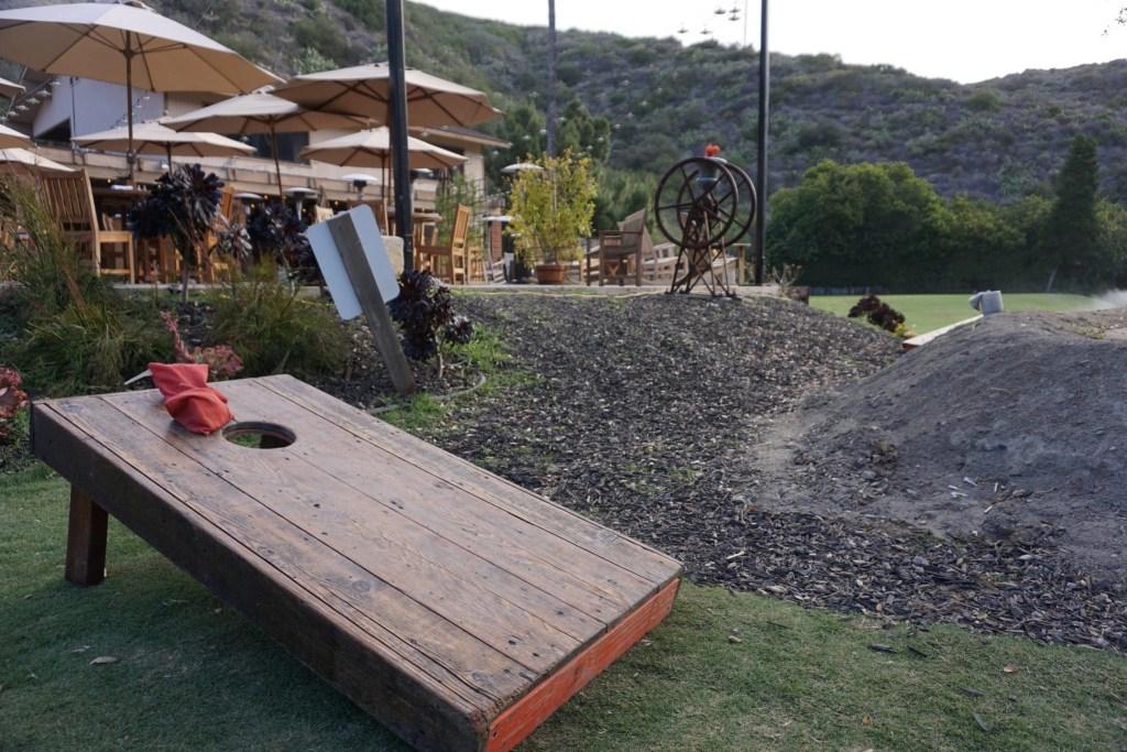 Games at The Ranch at Laguna Beach's Harvest Restaurant