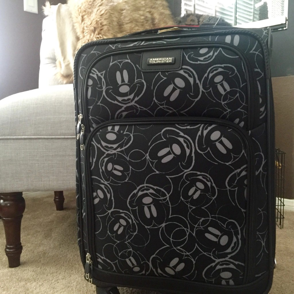 American Tourister Carry On Mickey Themed Bag