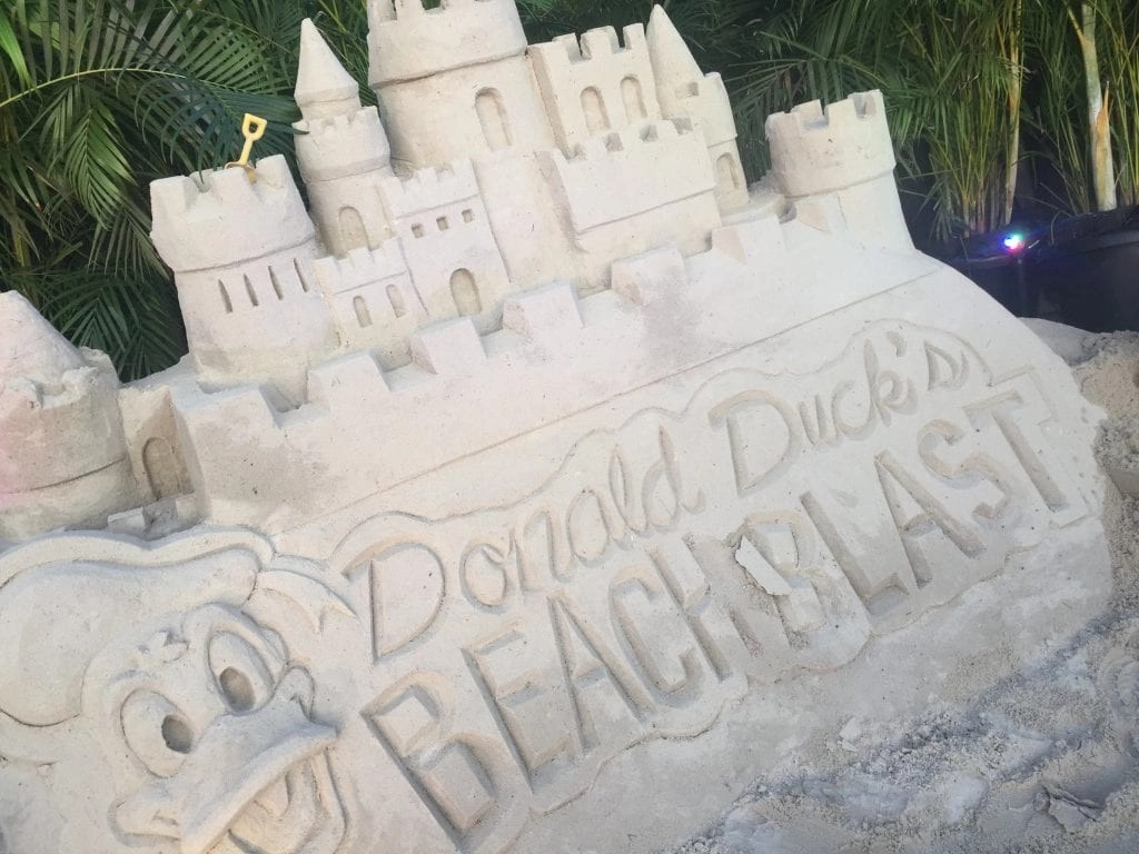Donald Beach Blast San Castle from Private Party at Typhoon Lagoon for DisneySMMC guests| Global Munchkins