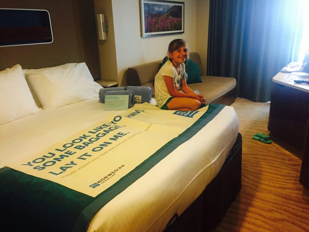 NCL Getaway Room with balony