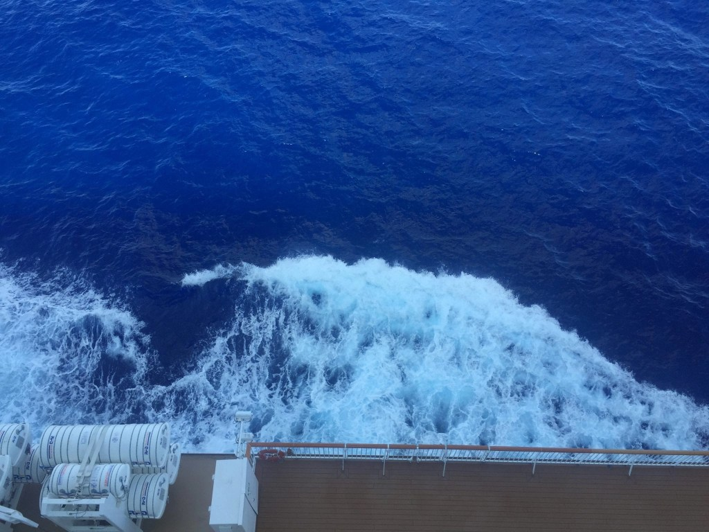 Balcony View on the NCL Getaway