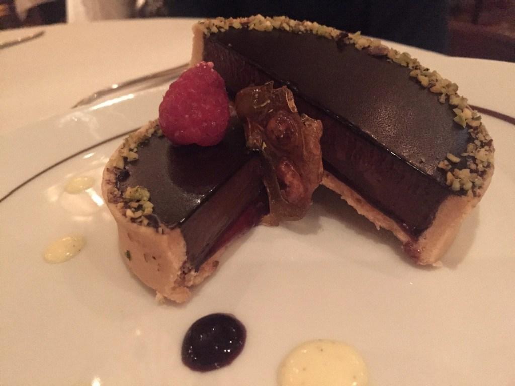 Chocolate Torte at La Cucina on NCL Getaway