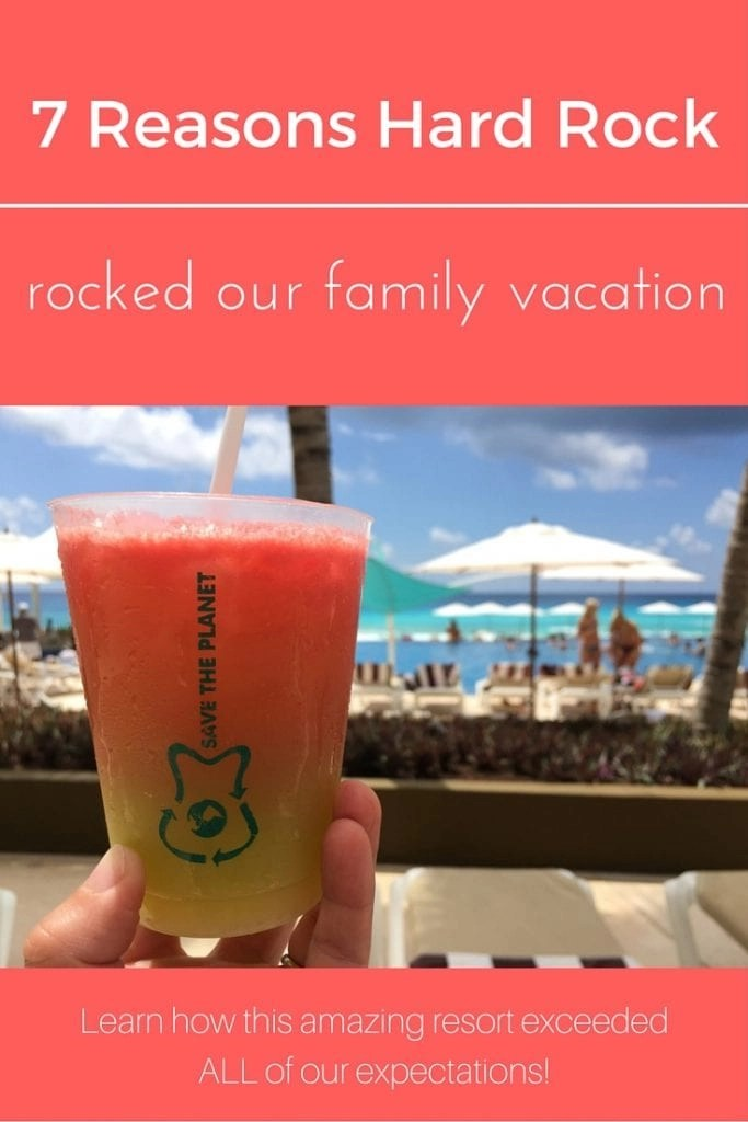 Hard Rock Cancun is one of our all time favorite family friendly all inclusive resorts. Read on to learn why....