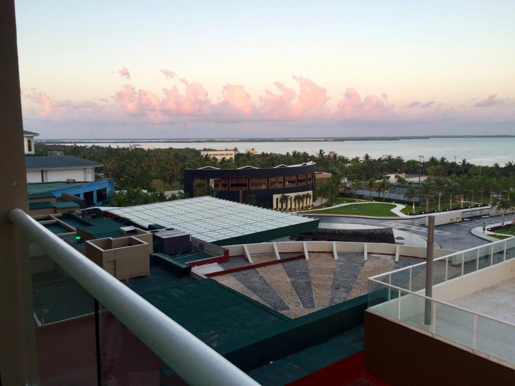 Sunrise at the Hard Rock Cancun