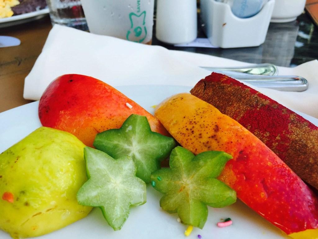 Fruit Plate Hard Rock Cancun