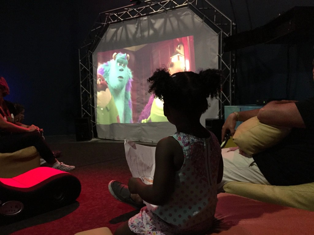 Movie room in the Little Big Club at the Hard Rock Cancun