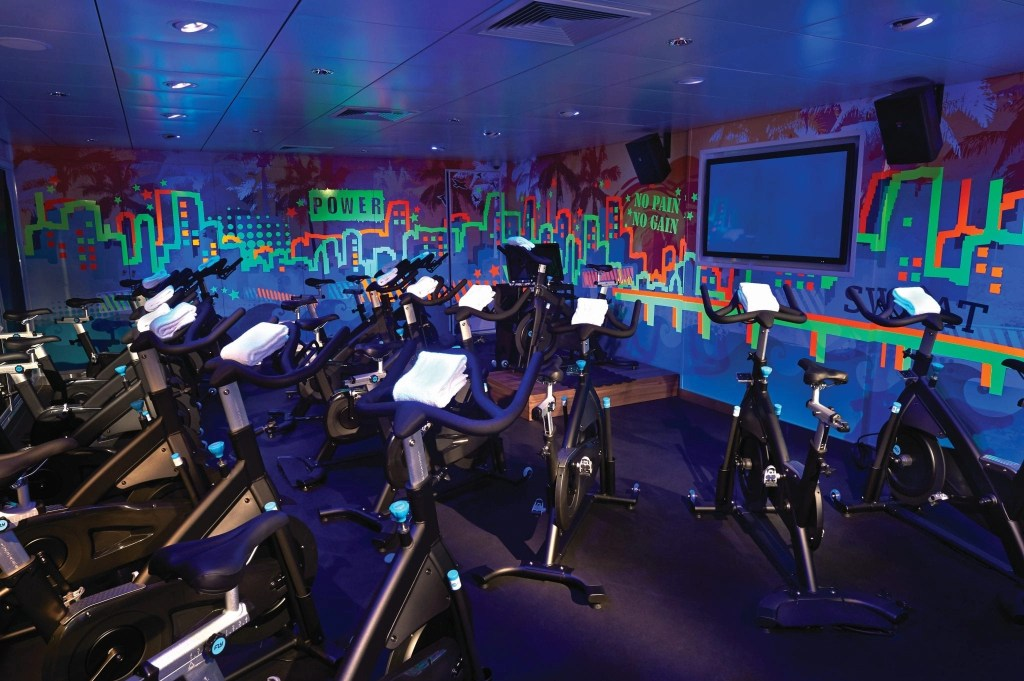 avoid gaining weight on a cruise by hitting up the gym,