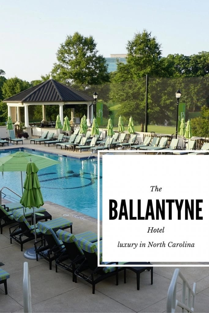 A review of the Ballantyne Hotel in North Carolina | Global Munchkins
