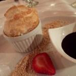 S'mores Souffle at Stongray Cafe in El Conquistador resort in Puerto Rico