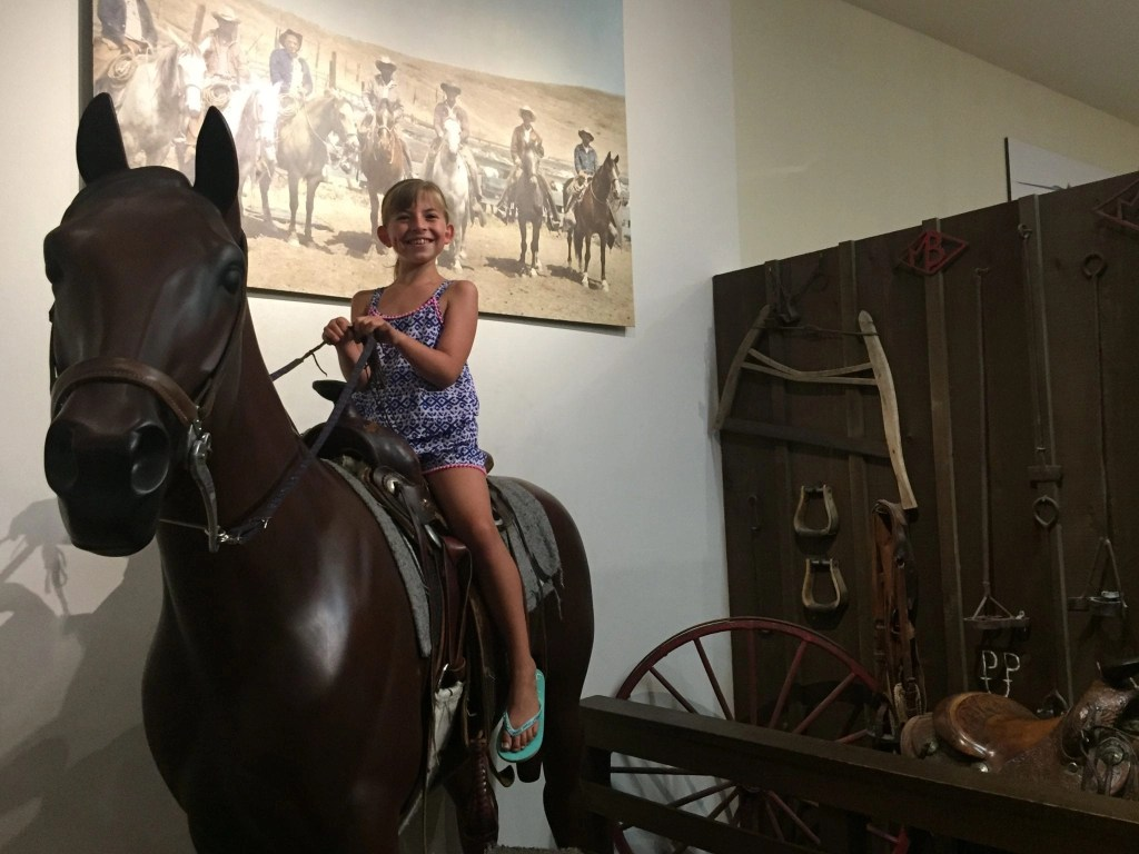 Riding a Horse at Temecula Valley Museum | Global Munchkins