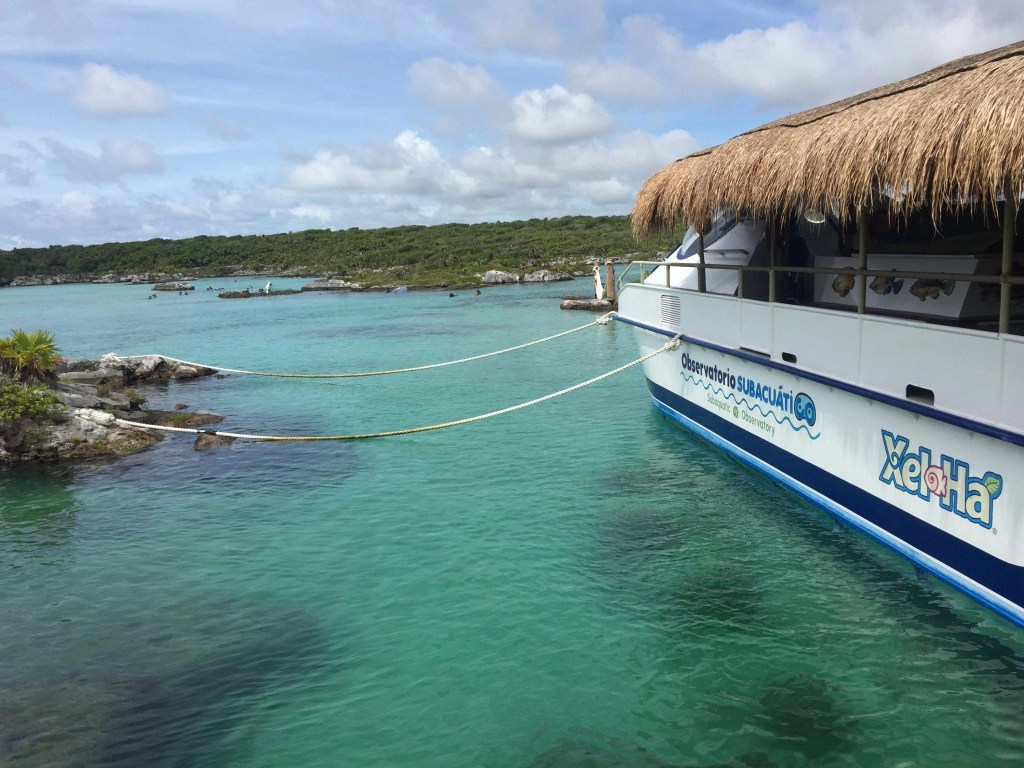 Snorkeling Lagoon at Xel-Ha part of the all inclusive experience in Cancun Mexico
