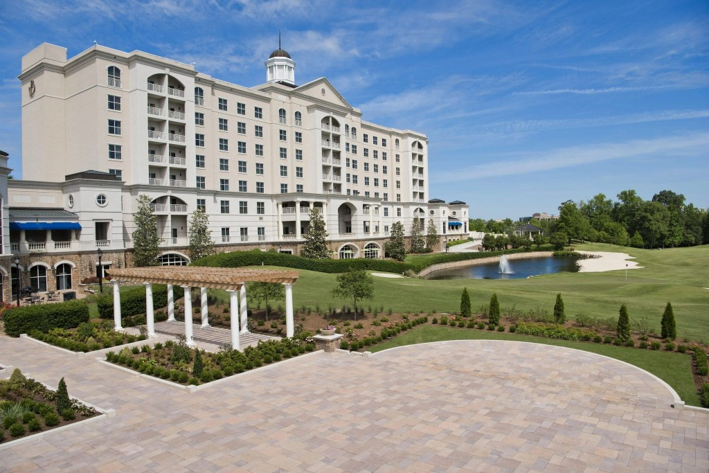 The South Lawn at The Ballantyne Hotel in North Carolina