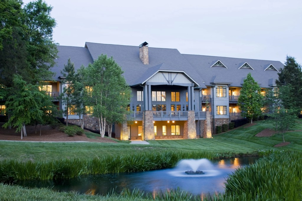 The Lodge at the Ballantyne Resort in NC | Global Munchkins