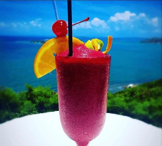 Cocktails at El Conquistador resort