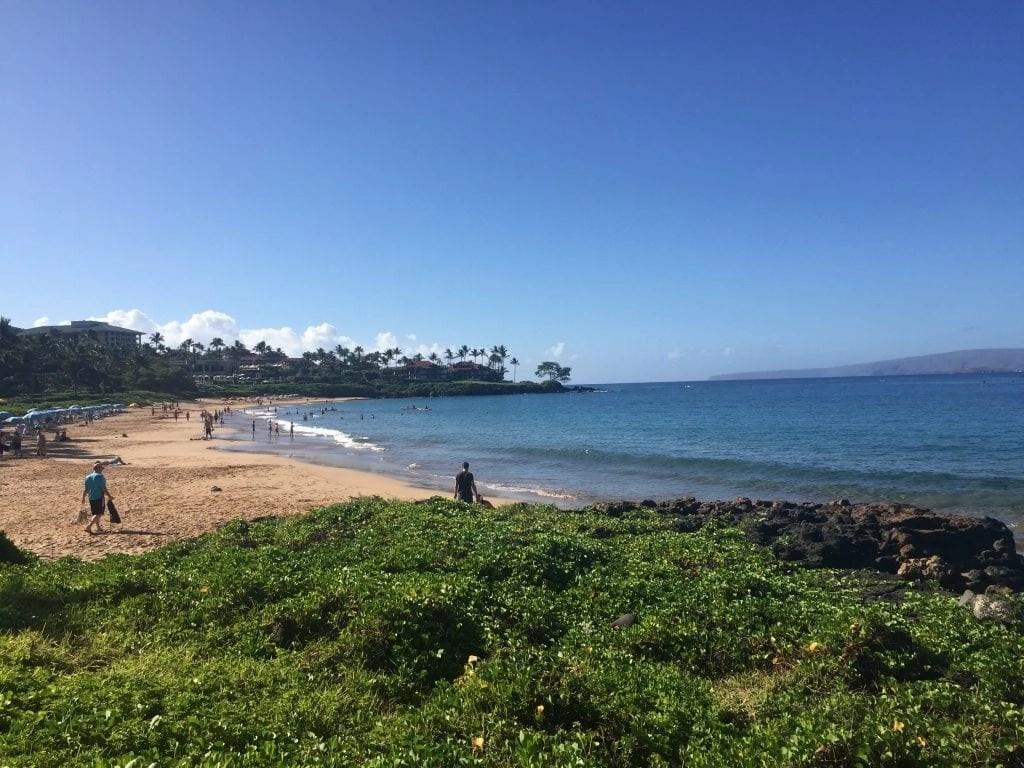 Beach at Grand Wailea