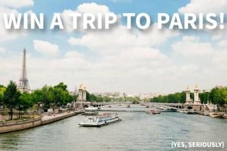 Win a Trip to Paris from Fat Tire Paris   Global Munchkins