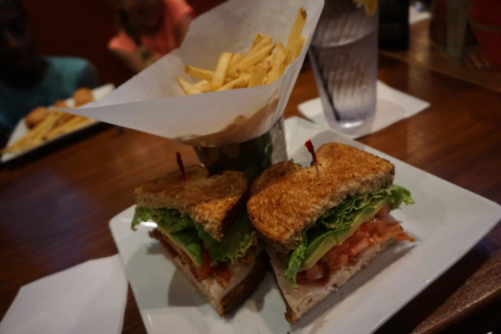 Turkey Club at Dave & Buster's   Global Munchkins