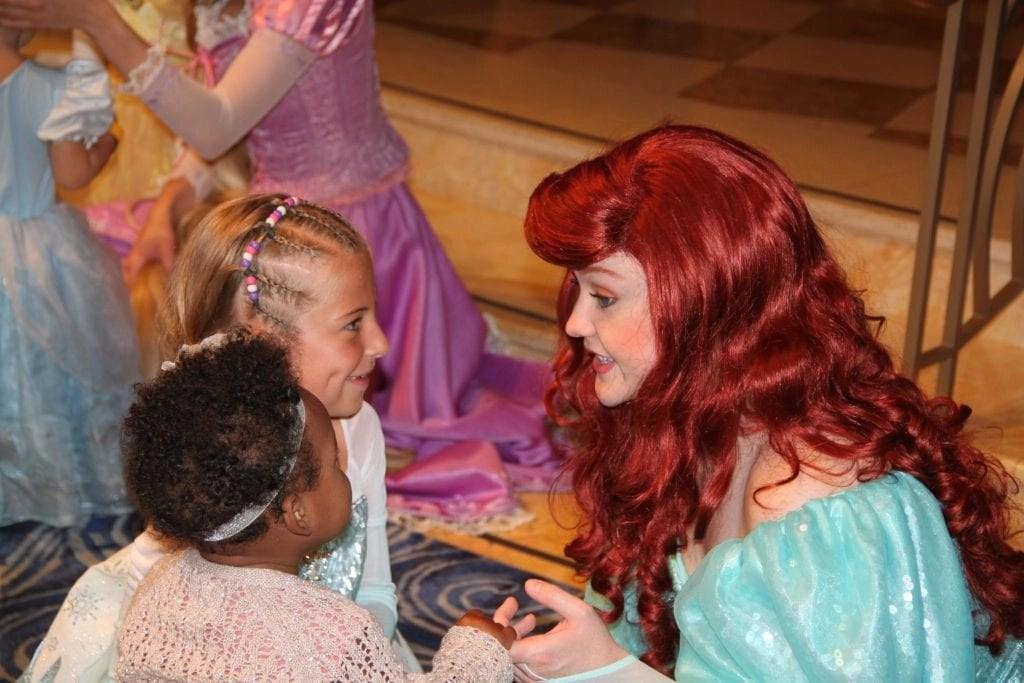 Mermaid on Disney Cruise Line with 2 little girls | Global Munchkins