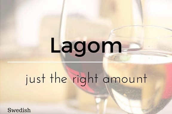 Lagom 13 words not in the English Language